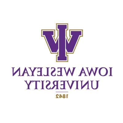 爱荷华卫斯理大学的标志